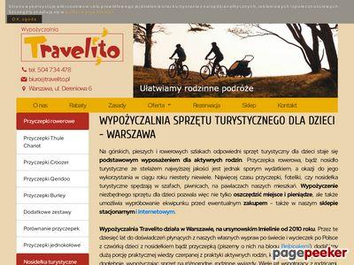 Travelito - wypożyczalnia sprzętu turystycznego