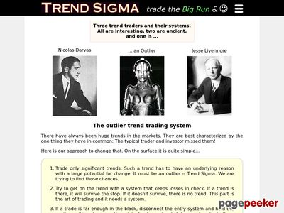 Trend Sigma – Stock Trading System