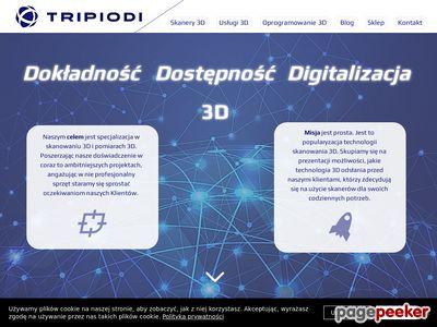 Tripiodi | Skanery 3D | Usługi 3D dla przemysłu i budownictwa