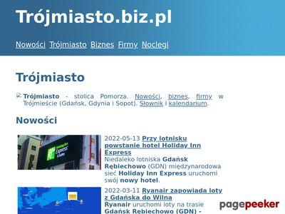Serwisy internetowe Gdynia, Sopot - tworzenie serwisów internetowych