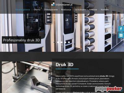 Trójwymiarowi.pl - projektowanie i drukowanie 3d