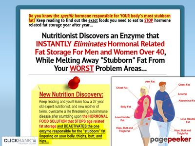 Trouble Spot Nutrition