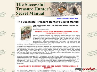 The Successful Treasure Hunter's Secret Manual