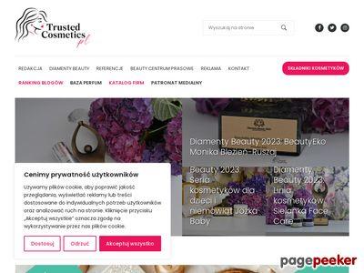 Trusted Cosmetics portal z branży kosmetycznej