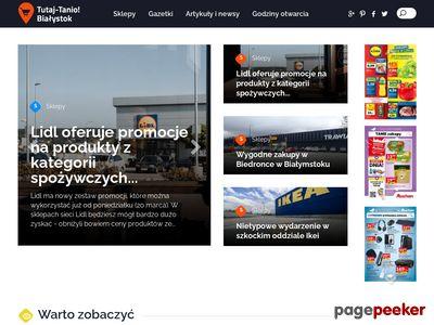 Okazje cenowe - tutaj-tanio.pl