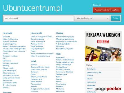 UbuntuCentrum.pl - programy, gry i narzędzia