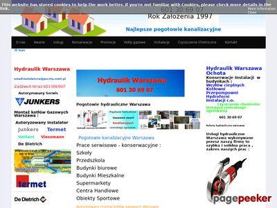Udrażnianie rur kanalizacyjnych Warszawa