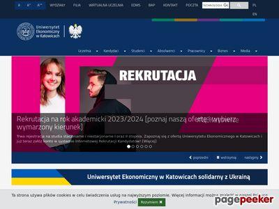 Uniwersytet Ekonomiczny w Katowicach - daje możliwości