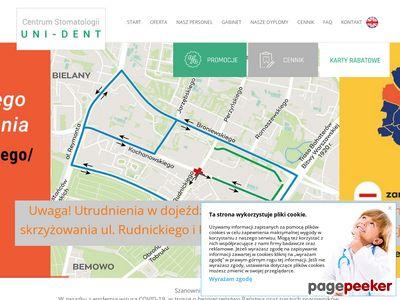 UNI-DENT stomatologia estetyczna warszawa