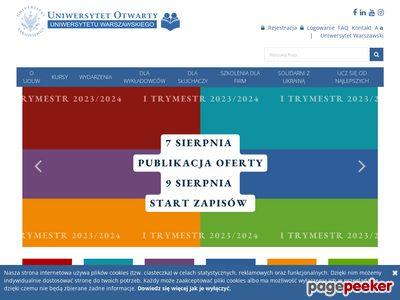 Uniwersytet Otwarty Uniwersytetu Warszawskiego