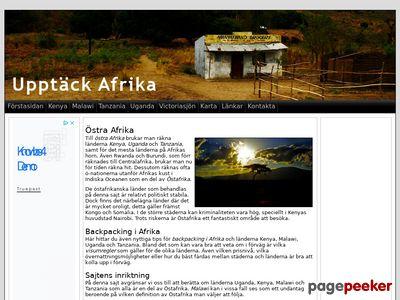 Backpacking i Afrika - Upptäck Afrika - http://www.upptackafrika.se