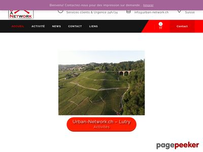 Urban Network, informatique et web (Lutry) - A visiter!