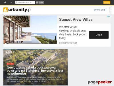 Urbanity.pl - mapa inwestycji budowlanych