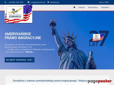 Wizy do usa - Szmurlo.pl Consulting