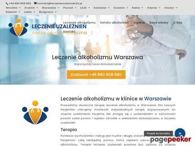 Leczenie alkoholizmu - Klinika Wilanów Warszawa