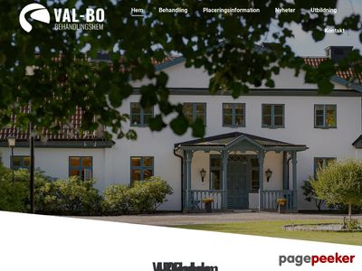 behandlingshem VAL-BO Norrköping - STARTSIDA - http://www.valbo.nu