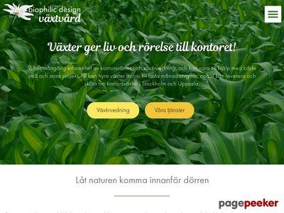 Växtskötsel, Växtinredning,  växtuthyrning,  företagsväxter - http://www.vaxtvard.se