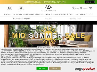 Sklep internetowy Villadecor