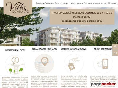 mieszkania na sprzedaż łódź - Villa Romanów