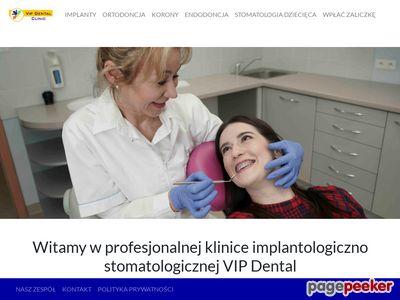 Vip dental implantologia i stomatologia estetyczna