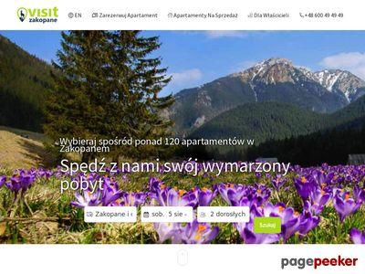 Apartamenty w Zakopanem - VisitZakopane