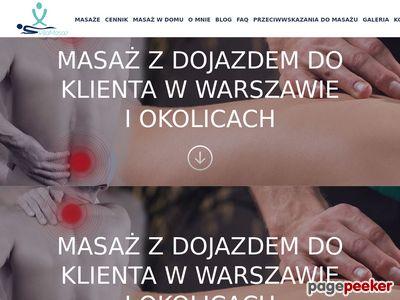 Masaż Warszawa z dojazdem