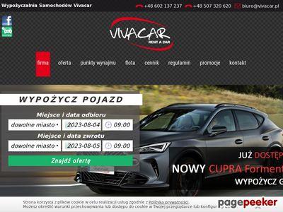 VIVACAR Wypożyczalnia samochodów Legnica