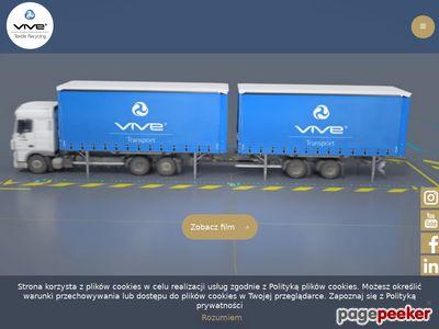 Vivetransport w międzynarodowej skali.