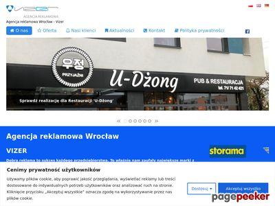 Agencja Reklamowa Vizer z Wrocławia