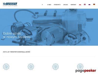 Http://www.wamel.com.pl : generator prądu przemiennego