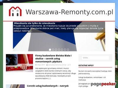 Remonty Warszawa