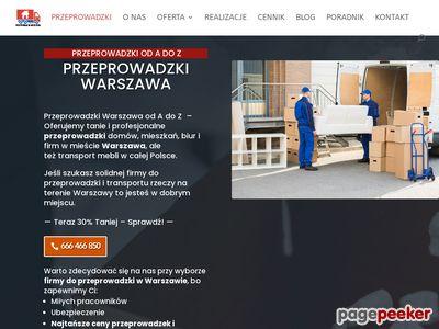 Przeprowadzki Warszawa Drozdowicz
