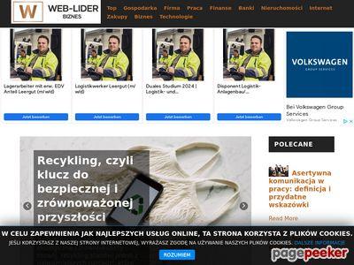 Bezpłatny katalog witryn internetowych Web-Lider