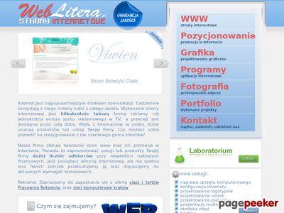 Kraków – tworzenie stron WWW – Weblitera