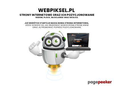 Webpiksel.pl - strony internetowe Płock
