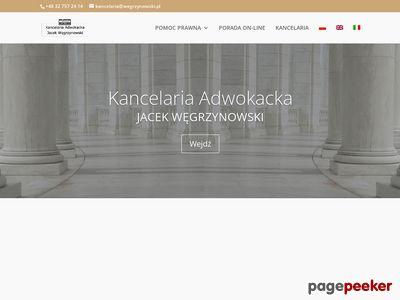 Kancelaria adwokacka Bielsko-Biała - www.wegrzynowski.pl