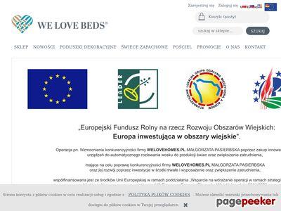 We Love Beds - Artykuły Wyposażenia Wnętrz
