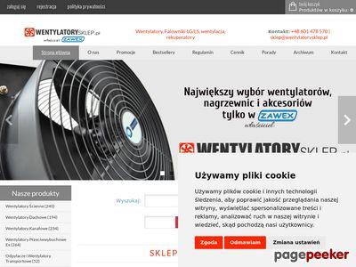 Wentylatory ZAWEX