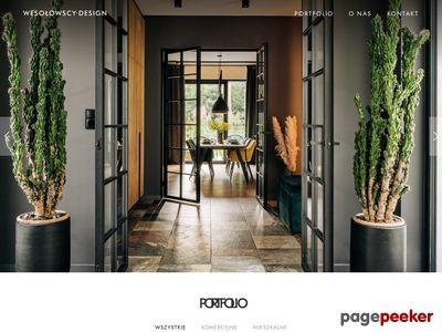 Wesołowscy-Design architekt, projektowanie wnętrz