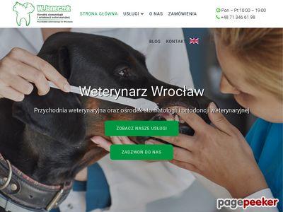 Klinika weterynaryjna Wrocław