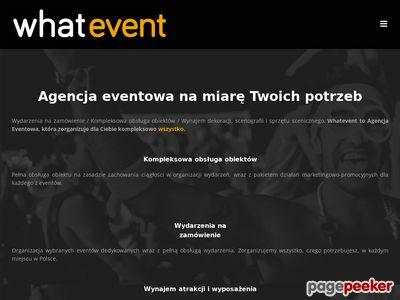 Agencja eventowa - Whatevent eventy dla firm