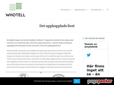 Webbhotell - Här hittar du det bästa webbhotellet! - http://www.whotell.se