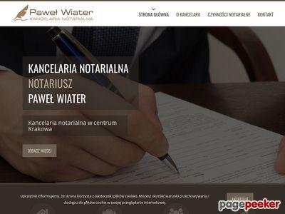 Kancelaria Notarialna notariusz Paweł Wiater