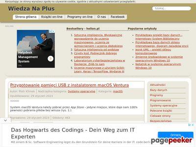 Wiedza Na Plus - nauka informatyki online