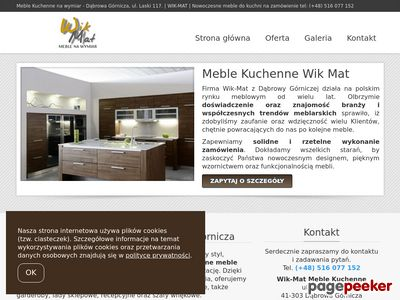 WikMat- Meble kuchenne na wymiar