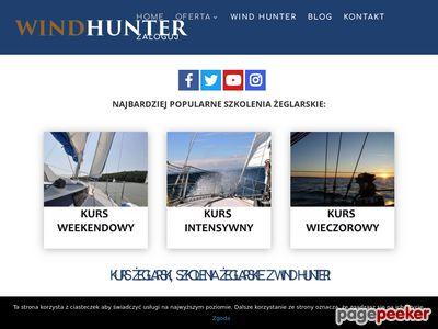 Kurs żeglarski i patent z Wind Hunter