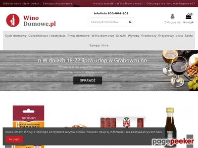 Winodomowe.pl - akcesoria winiarskie