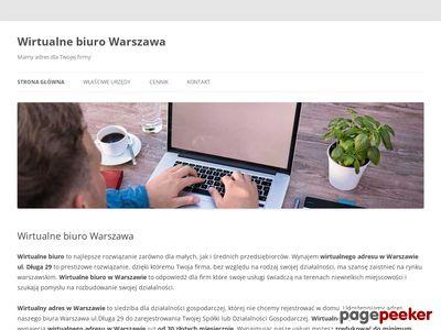 Biuro wirtualne warszawa wirtualna-firma.pl