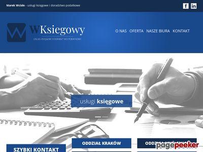 Marek Wcisło Biuro Usług Księgowych i Doradztwa Podatkowego Kraków
