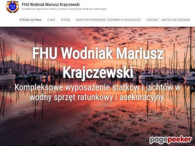 Wodny Sprzęt Ratunkowy - Wodniak Bydgoszcz M. Krajczewski